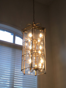 Vintage Foyer Hanging Chandelier