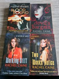 Four books by Rachel Caine