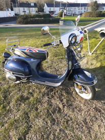 Lexmoto milano 125cc scooter
