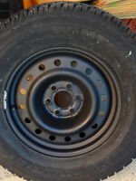 Snow Tires and Rims -- Fits Nissan Pathfinder