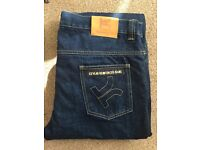 Oxford Kevlar Jeans with knee protection