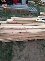 Cedar fence boards
