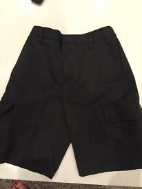 School shorts aged 7 M&S