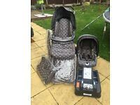 Mamas and Papas 3in1 Travel System Pliko P3