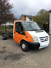 image for Transit 2.4 chassis cab LWB px welcome
