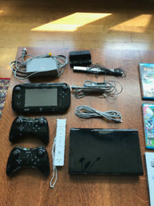 Wii U Console Bundle with 8 games