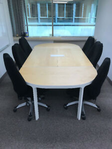 IKEA Berkant Conference Table & Chairs