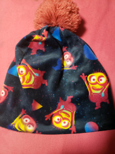 Dispicable Me 3 hat only warn once toddler size
