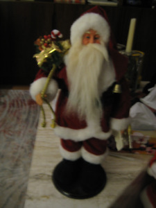 Santa Claus decoration for home - 17 inches high - new