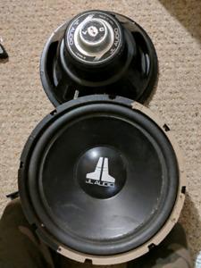 2 JL Audio Car Subs