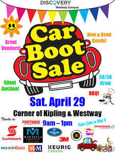 Community Rummage Sale Fundraiser April 29th