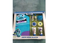 Monsters Inc bathing gift set from marks and spencers
