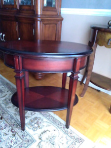 Bombay side table w/ drawer nightstand
