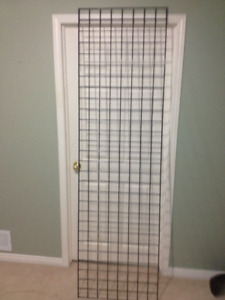 Gridwall Panel 7ft x 2ft Black - Used