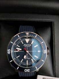 Alpina seastrong GMT 300m divers watch