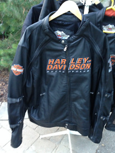 HARLEY DAVIDSON MOTORCYCLES LEATHER JACKET 2XL NOS