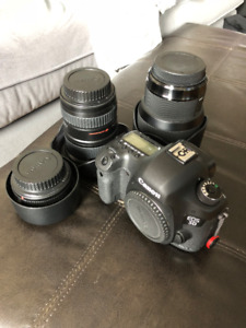 Canon EOS 5D Mark 3 (III) DSLR Camera COMPLETE SET