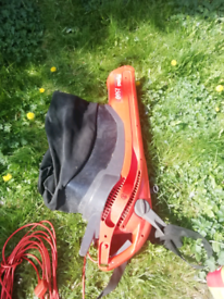 Flymo leaf blower collector bargain