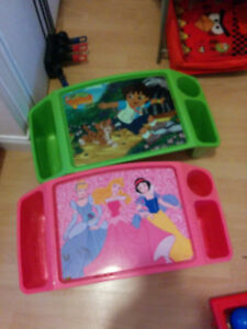 multi toys and trays