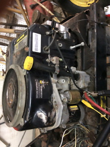 Parting out a LX176 John deere rider