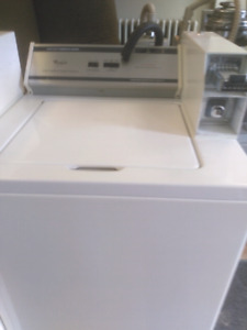 Coin-op washer and dryer