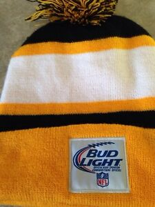 NFL Pittsburgh Steelers budlight beer toque Gatineau Ottawa / Gatineau Area image 2
