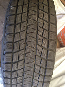 4 Bridgestone Blizzak Winter Tires For Sale