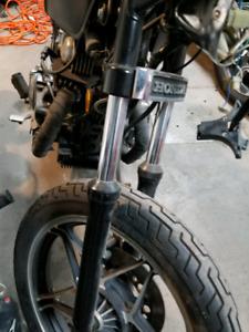 Front forks/shocks no leaks 1984 Honda Cb450 hawk