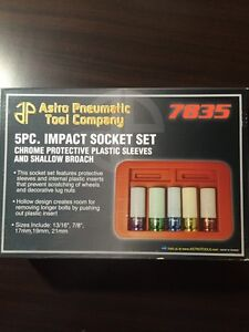 Impact socket set plastic brand new