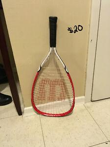 Wilson Squash racquet $20