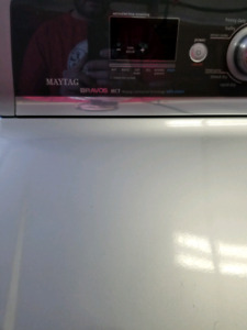 Maytag Bravos MCT Washer and GAS dryer