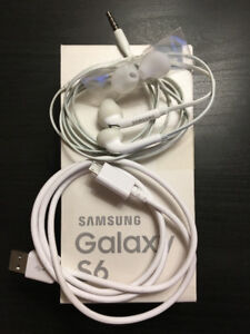 Samsung earbuds and charger cable