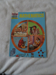 vintage 1961 HOW AND WHY WONDER BOOK OF MATHEMATICS