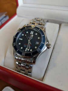 Omega Seamaster 300M Quartz 36.25mm Case Size