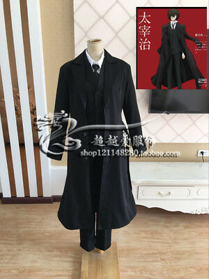 Bungo Stray Dogs Armed Detective Company Osamu Dazai Cosplay Costume C018