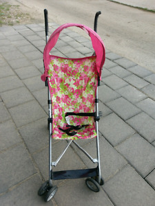 Umbrella stroller with shade cover