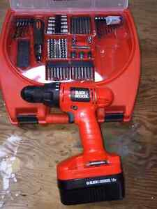 Reduced Black and Decker 6 speed cordless drill machine