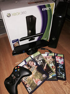 XBOX KINECT 4gb - NEW with Controller and Games