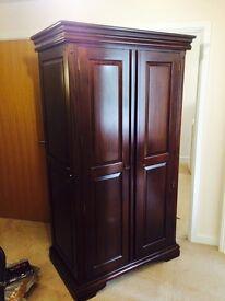 Stunning top quality john Lewis solid wood wardrobe