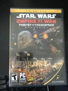 Star Wars Empire at War forces forces of corruption expansion