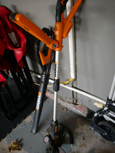 Worx weed whacker and blower