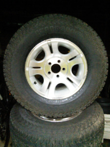 Ford ranger/mazda rims and tires.