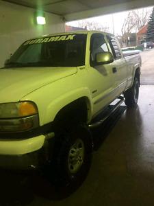 2002 duramax diesel lifted