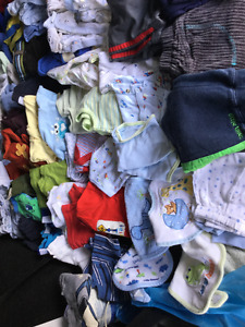 Baby boy clothing, 3-6 months, good condition, smoke free, bag6