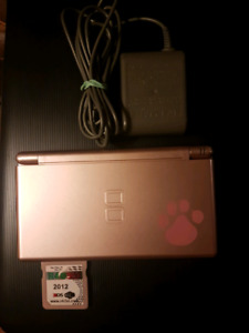 Limited Edition Paw Print DS Lite with R4