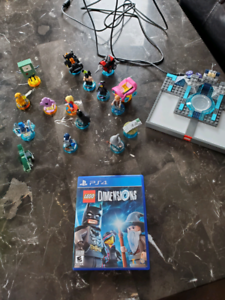 lego dimensions game and extras