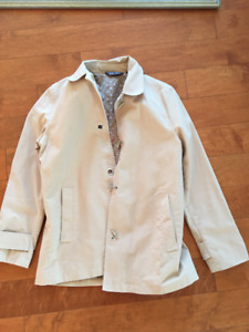 Light beige jacket - perfect for Spring