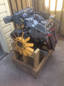 TR7 Engine and 5 Speed Transmission