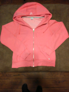 $4$ TNA Sweater Pink & White (Size Large)
