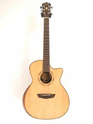 Washburn Comfort WCG20SCE Auditorium Solid Top Acoustic Electric Guitar - NOS